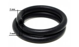 Benzinschlauch UNI 3 mm x 11 mm