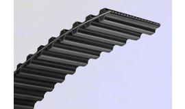 Zahnriemen des Messerantriebshebels 2000mm breite 25mm