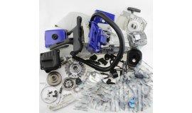 Komplettes Reparaturset geeignet für Stihl MS440 044 MS460 046 - Blaue Kombination