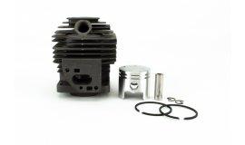 Kompletter Zylinder mit Kolben Chinesische Freischneider 32cc - 36mm